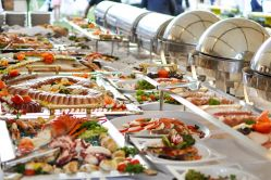 Catering options for large parties